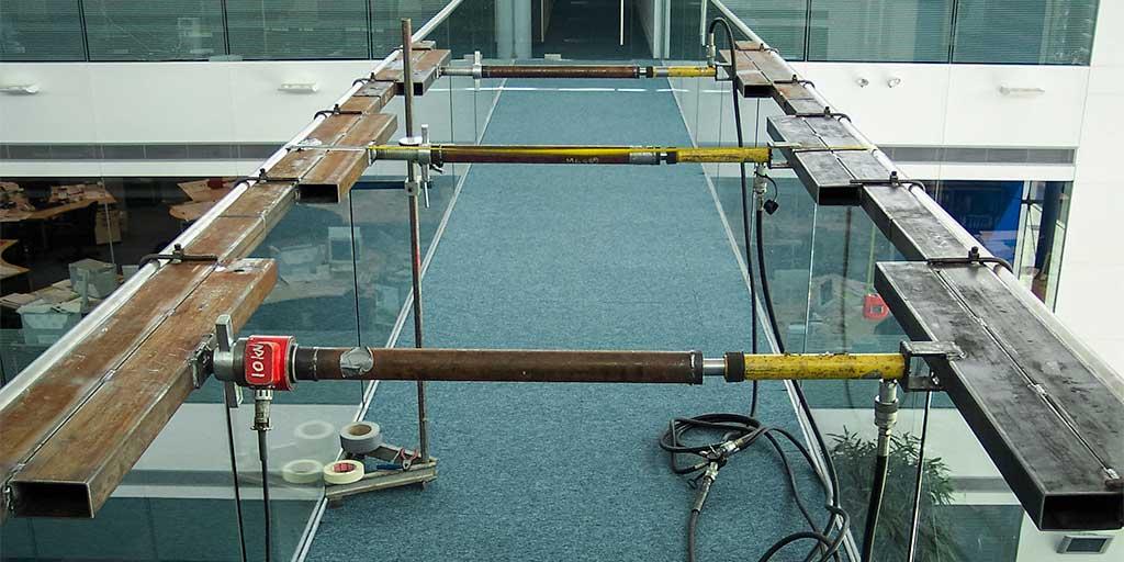Barrier testing in buildings