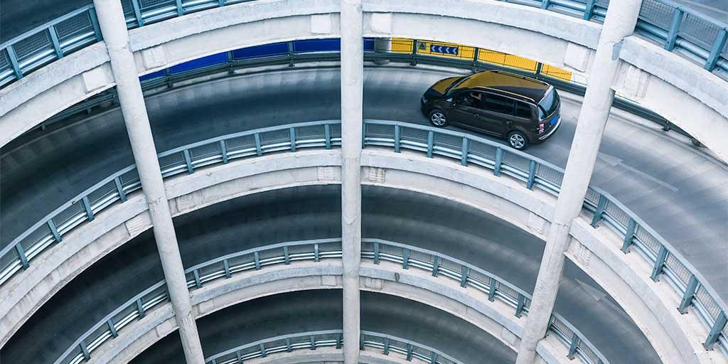 Car park ramp
