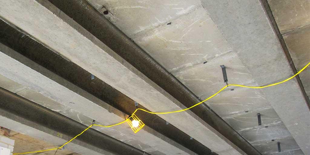 HAC floor beams