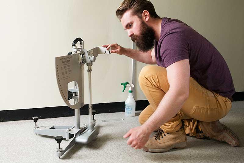Slip Resistance Testing of Floor
